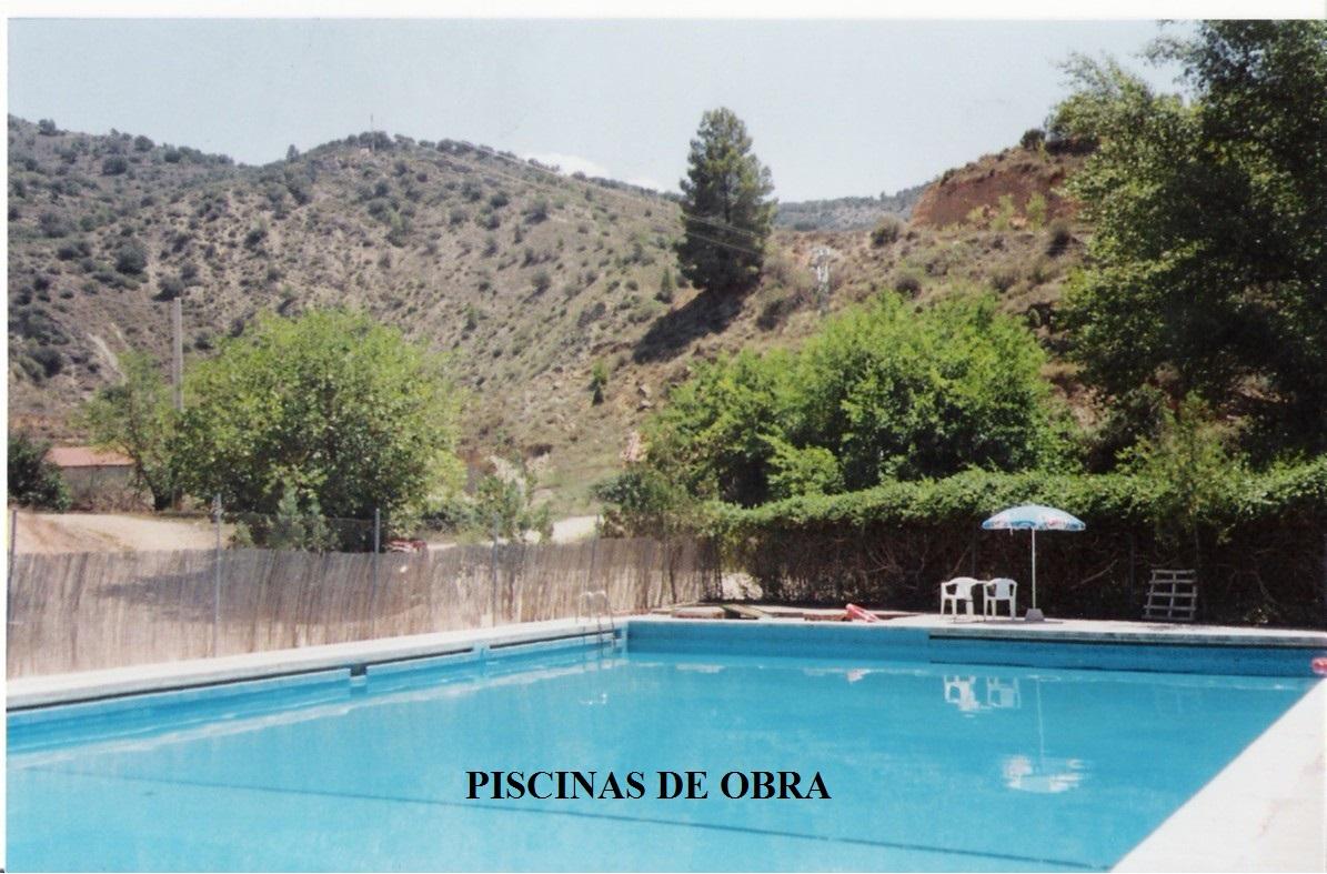Exteriores excavaciones y piscinas construcciones for Piscinas exteriores