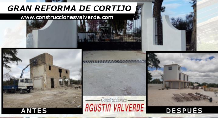 Gran Reforma de Cortijo – CONSTRUCCIONES VALVERDE