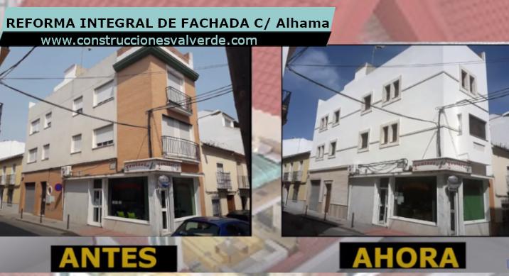 Reforma Integral de Fachada en Calle Alhama